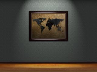 обои Мир на стене фото