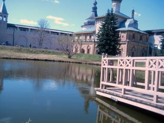 обои Ростовский Кремль. Вид из центра фото