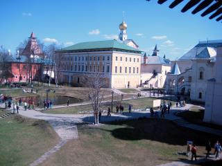 обои Кремль в Ростове. Вид со стены фото