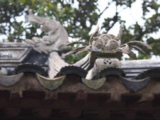обои Китайская крыша с водостоком фото
