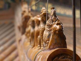 обои Деревянная миниатюра из Китая фото