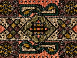 обои Тибетские узоры из янтр и узелков фото