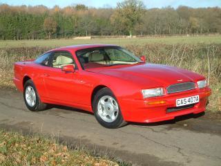 обои Красный Aston Martin фото