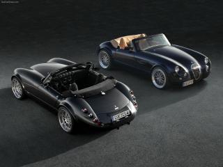 обои Wiesmann-Roadster 2006 вид спереди и сзади фото