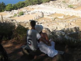 обои Старый город, в Греции. Руины фото