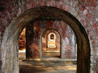 обои Достопримечательности Японии арки фото