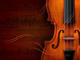 обои Старая скрипка фото