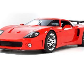 обои Красный супер кар фото