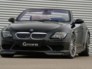 обои BMW G POWER M6 HURRICANE Convertible фото