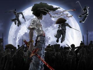 обои Games Afrosamurai фото