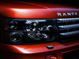 обои Range rover sport фара фото