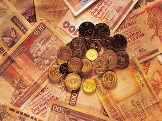 обои Мелочь на китайской валюте фото