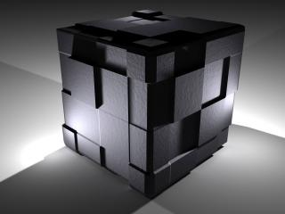 обои 3D Cube фото