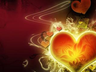 обои Art сердце фото