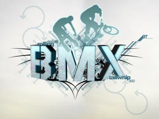 обои Надпись  BMX фото