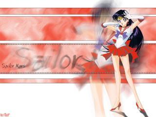 обои Sailor Mars фото
