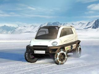 обои Magna Steyr MILA Alpin Concept фото