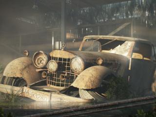 обои Старый автомобиль фото