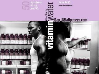 обои 50 cent пьет витаминную воду фото