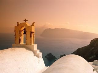 обои Звонница в греции фото