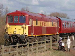 обои Photo of Train at Chasewater фото