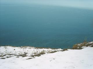 обои Море зимой - Чёрное море в Анапе фото