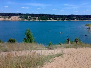 обои Озеро в поселке Юдино (Казань) фото