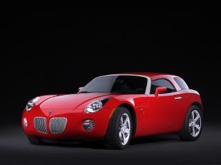 обои EDAG Pontiac Solstice Hard Top Concept 2006 передок фото