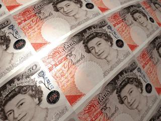 обои 50 банкнота фунтов стерлинг фото