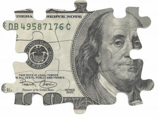 обои Hundred dollar puzzle фото