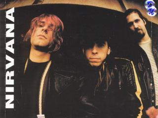 обои Легенда панк рока - NIRVANA фото