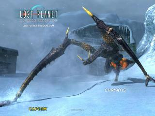 обои Lost Planet Cryatis фото