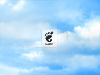 обои Gnome Logo фото