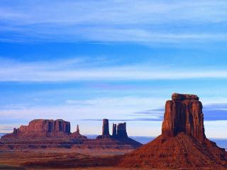обои Скалы в пустыне фото