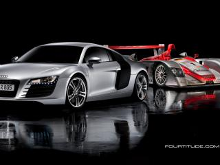 обои Audi R8 & Audi R10 фото