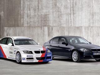 обои для рабочего стола: BMW 320si