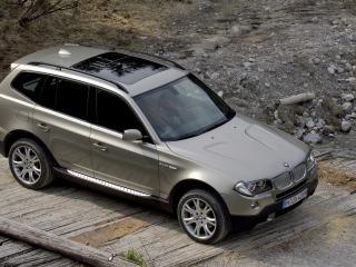 обои BMW X3 фото