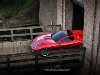 обои Chevrolet Corvette Z03 фото