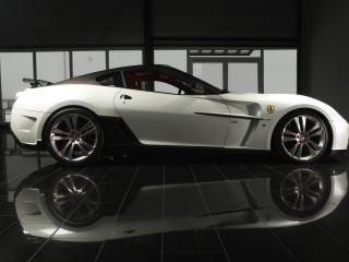обои Ferrari 599 mansory фото