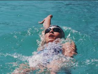 обои для рабочего стола: Плавание в открытой воде