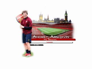 обои Аршавин в Арсенале. Лондон фото