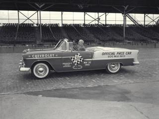 обои Chevrolet Bel Air Convertible Pace Car 1955 фото