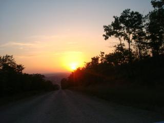 обои Закат солнца фото