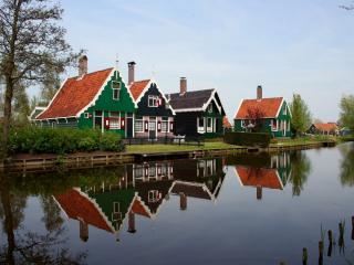 обои Домики Голландии фото