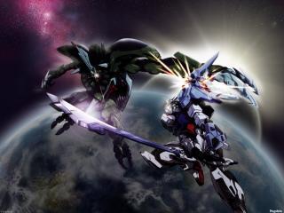 обои Gundam seed battle фото