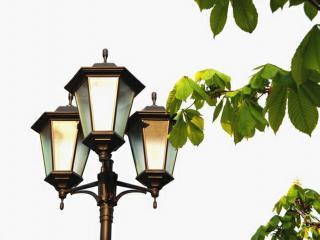обои Уличный фонарь фото