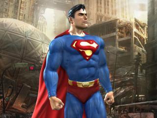 обои Важный супермен фото