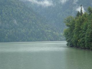 обои Озеро Рица фото