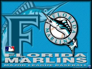 обои для рабочего стола: Florida Marlins