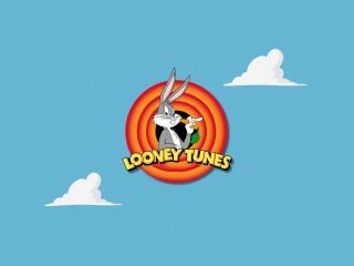 обои Логотип Looney Tunes с Багс Банни фото